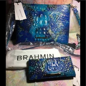 NWT SET: sold out Phthalo REMY CROSSBODY & WALLET